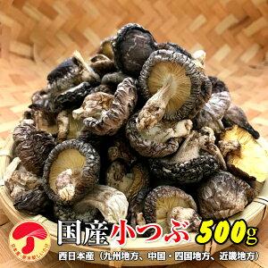 干し椎茸 国産 小つぶ 500g(干しシイタケ 干ししいたけ 乾しいたけ 乾燥シイタケ 乾燥椎茸 原木)