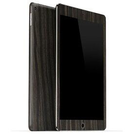 【ネコポス送料無料】【即納】iPad Air2 ケースより外観を美しく上品に!【iPad Air2 ウッド調プレミアムスキンシール】【ダークエボニー】【RCP】【10P23Apr16】