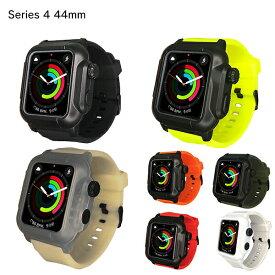 【送料無料】【ROOX】【Series 4】 IP68 防水防塵ケース for Apple Watch YHDIPCW防水 防滴 最高クラス IP68 海 プール ワークアウト 水仕事 現場 最適 デジタルクラウン ボタン操作 継ぎ目 カバー 充電 画面操作