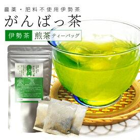 伊勢茶 煎茶ティーバッグ15包 メール便送料無料 お茶 日本茶 三重県産 農薬・肥料不使用栽培