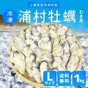 牡蠣むき身 送料無料 冷凍 浦村牡蛎 Lサイズ1kg(約35〜40個) 加熱用 伊勢志摩産浦村カキを身入りの良い時期に瞬間冷凍