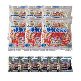 みなみ製麺 伊勢うどん 生タイプ 6食お試しセット(タレ付き)