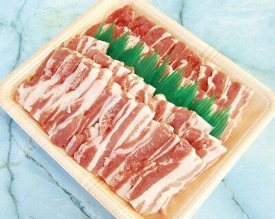 伊勢美稲豚 豚バラ焼肉用500g