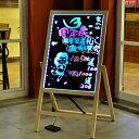 看板 光る看板 店舗用 LED看板 A型 LEDボード 100×55  Lサイズ 光る 看板 LED 手書き 広告 販促