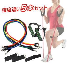 筋トレ チューブ トレーニングチューブ エクササイズチューブ フィットネスチューブ エクササイズバンド トレーニング ダイエット 健康器具 送料無料