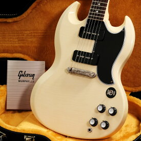 Gibson Custom Shop / Murphy Lab Collection 1963 SG Special Ultra Light Aged Classic White【S/N 002183】【渋谷店】【YRK】