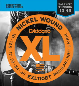 D'Addario / EXL110BT Balanced Tension Regular Light 10-46 エレキギター弦【池袋店】
