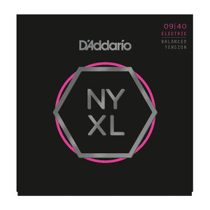 D'Addario / NYXL Series Electric Guitar Strings NYXL0940BT Balanced Tension Super Light 9-40 エレキギター弦【池袋店】