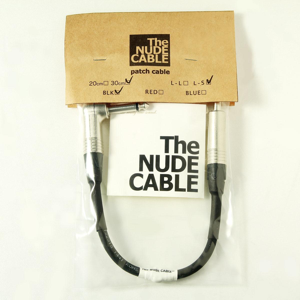 NUDE CABLE / パッチ 30CM LS ブラック【渋谷店】