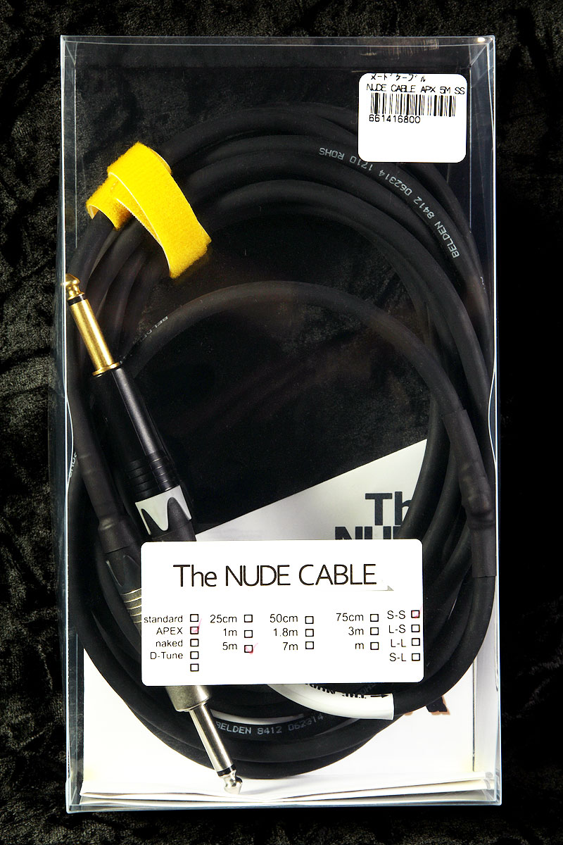NUDE CABLE / NUDE CABLE APEX 5m S-S ケーブル【渋谷店】