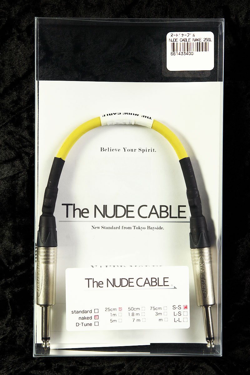 NUDE CABLE / NUDE CABLE NAKED 25cm S-S ケーブル【渋谷店】