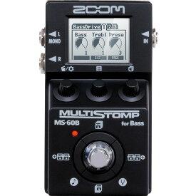 ZOOM / MS-60B-I MultiStomp Bass Pedal Black Limited 【限定生産モデル】【8月初旬入荷予定】【御茶ノ水本店】
