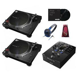 Pioneer DJ / DJM-S3 + PLX-500-K 【DVSセット!】【DJ BATTLE DVDサービス!】【お取り寄せ商品】【渋谷店】
