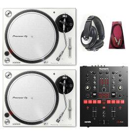 Pioneer DJ / PLX-500-W × NUMARK SCRATCH SET【豪華2大特典付き!】【お取り寄せ商品】【渋谷店】