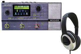 MOOER / GE-200 Amp Modelling & Multi Effects 【今だけ!CUSTOM TRY HP-170 ヘッドホン プレゼント!】【御茶ノ水本店】