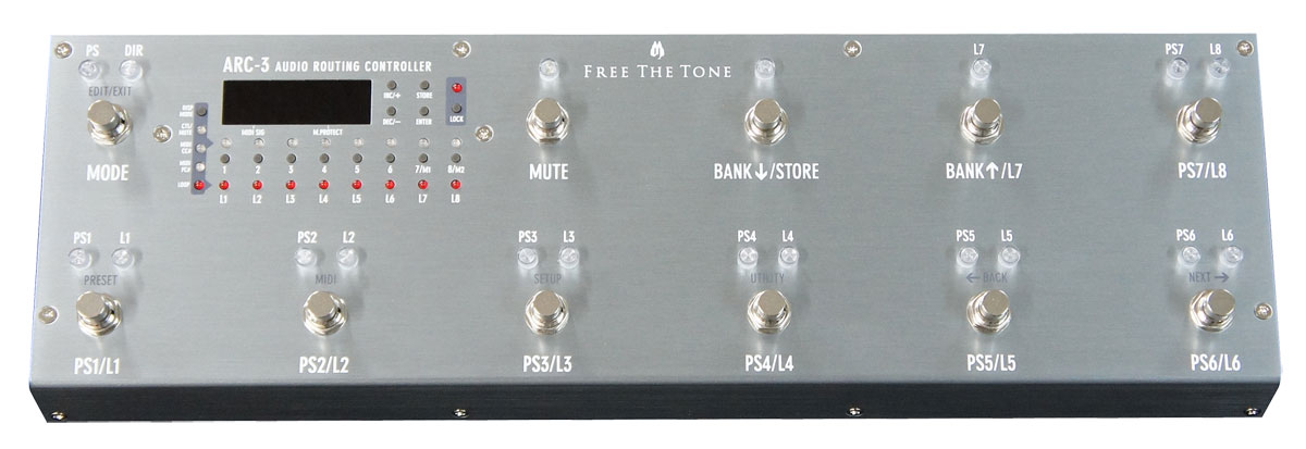 Free The Tone / フリーザトーン Audio Routing Controller ARC-3 【フットコントローラー】【御茶ノ水本店】