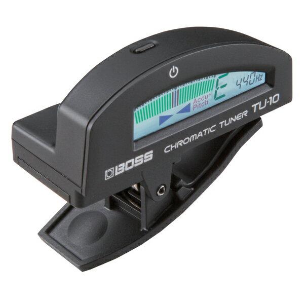 BOSS ボス / Clip-on Chromatic Tuner TU-10 Black【クリップチューナー】【渋谷店】