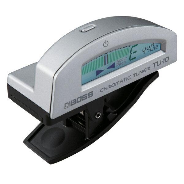 BOSS ボス / Clip-on Chromatic Tuner TU-10 Silver【クリップチューナー】【渋谷店】