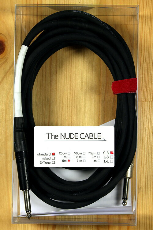 The NUDE CABLE Std. 5M S-S【ケーブル】【渋谷店】