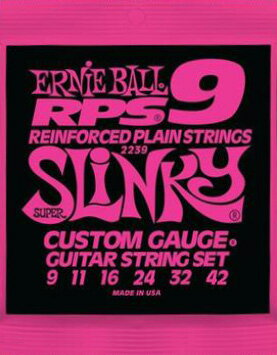 ERNiE BALL / RPS #2239 SUPER SLiNKY RPS9 09-42 【エレキギター弦】【Electric Guitar Strings】【セット弦】【アーニーボール】【スーパースリンキー】【ピンク】【Pink】【新宿店】