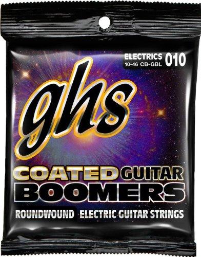 ghs / Coated Guitar Boomers CB-GBL Light 10-46 【エレキギター弦】【セット弦】【コーティング弦】【コーテッドギターブーマーズ】【ライト】【新宿店】