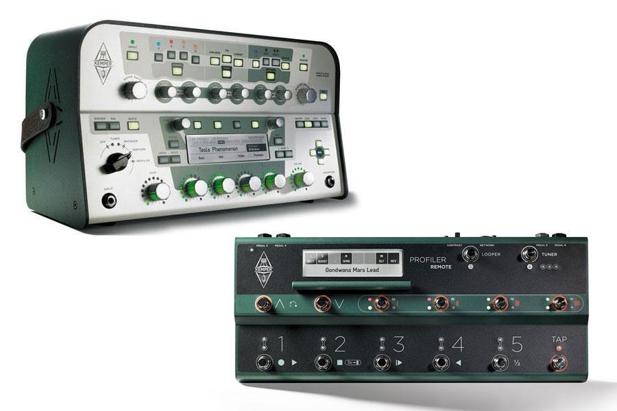 Kemper / Profiling Amp White + Profiler Remote【ケンパー】【プロファイリングアンプ】【ホワイト/シルバー(Silver)】【新宿店】