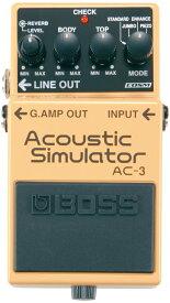 BOSS / AC-3 Acoustic Simulator 【エフェクター】【ボス】【アコースティックシュミレーター】【新宿店】
