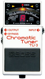 BOSS / Chromatic Tuner TU-3 【ボス】【クロマチックチューナー】【TU3】【新宿店】