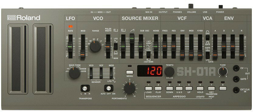 Roland ローランド / Boutique SH-01A BLACK Synthesizer ブティーク シンセサイザー【予約注文】【梅田店】