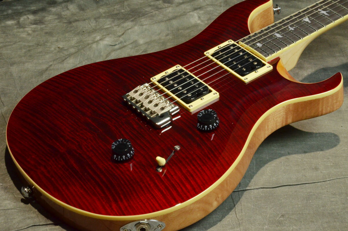 Paul Reed Smith (PRS) / Japan Limited SE CUSTOM 24 Beveled Maple Top Black Cherry/Natural Back【横浜店】