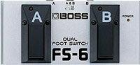 BOSS Dual Foot Sw FS-6ボス フットスイッチ