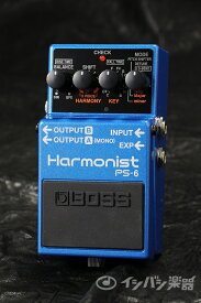 【ご購入特典つき!】BOSS / PS-6 Harmonist ハーモニスト【YRK】《/80-set12101》《特典つき!/+2307117130001》