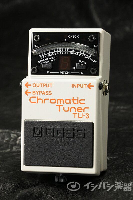 BOSS / TU-3 ペダルタイプクロマチック チューナー【YRK】