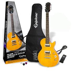 【在庫有り】 Epiphone / Slash AFD Les Paul Special-II Guitar Outfit Appetite Amber 【スラッシュシグネチャーモデル!】《純正アクセサリーセット進呈/+2308111624008》 エピフォン エレキギター レスポール スペシャル
