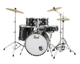 【在庫あります】Pearl / RS525SCWN/C-31ジェットブラック ROADSHOW ドラムセット(スタンダードサイズ)【数量限定特価】