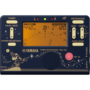 YAMAHA / TDM-700DF2 ヤマハ ディズニー チューナーメトロノーム ファンタジア 《数量限定品》