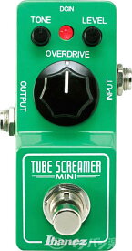 【あす楽365日】Ibanez アイバニーズ / TS MINI TUBE SCREAMER MINI【オーバードライブの定番、チューブスクリーマーがダウンサイジング!】【TS9やTS808に次ぐ新定番!】