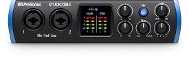 【あす楽365日】PreSonus プレソナス / Studio 24c USB Type-C オーディオ/MIDIインターフェース