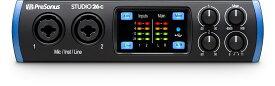 【あす楽対象】PreSonus プレソナス / Studio 26c USB Type-C オーディオ/MIDIインターフェース