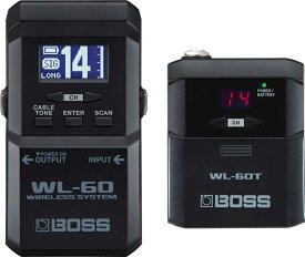 【あす楽365日】BOSS / WL-60 ボス ギターワイヤレスシステム ワイアレス WL60【YRK】【PTNB】