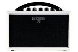 【あす楽365日】【在庫有り】 BOSS / KATANA-MINI WHITE (KTN-MINI WH) 【イシバシ楽器限定販売モデル】 ボス ギターアンプ 電池駆動 ポータブルアンプ KATANA 【YRK】