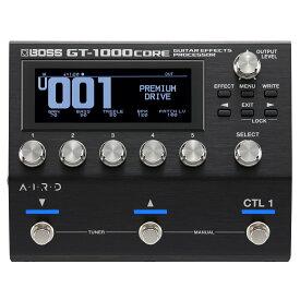 【あす楽365日】 BOSS / GT-1000CORE 【ギター/ベース用マルチエフェクター】 ボス エフェクター GT1000 【YRK】