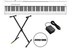 【あす楽365日】Roland ローランド / FP-30X WH 電子ピアノ 白/ホワイト【Xスタンド KS100B セット!】(FP30X)【YRK】