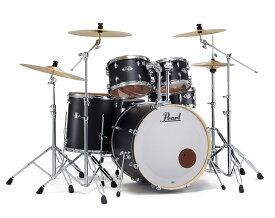 【タイムセール:29日12時まで】Pearl ドラムセット EXX725S/C #761 3シンバル拡張 ドラムフルセット (スタンダードサイズ)【数量限定特価】