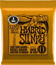 ERNiE BALL アーニーボール / 3222 HYBRID SLINKY ORANGE 3SET PACK