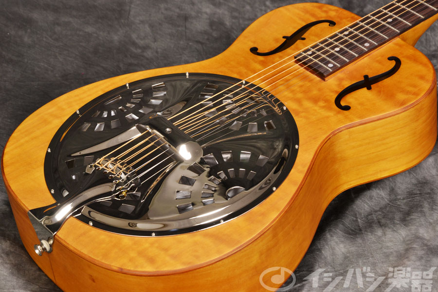 Epiphone / Dobro Hound Dog Round Neck Vintage Brown エピフォン ドブロ リゾネーターギター 《純正アクセサリーセット進呈 /+811162500》