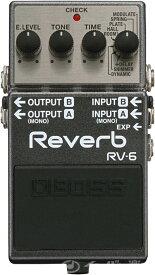 【ご購入特典つき!】 BOSS / RV-6 Reverb ボス エフェクター リバーブ RV6 【YRK】《/80-set12101》