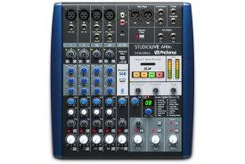 【在庫あり】PreSonu プレソナス / StudioLive AR8c アナログ・ミキサー + 24Bit 96kHzオーディオI/O + SDレコーダー