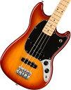 【タイムセール:29日12時まで】Fender / Player Mustang Bass PJ Maple Fingerboard Sienna Sunburst フェンダー《純…