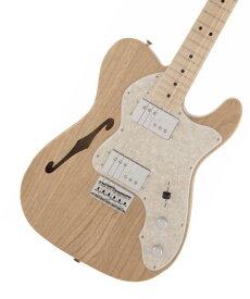 【タイムセール:27日12時まで】Fender / Made in Japan Traditional 70s Telecaster Thinline Natural フェンダー 《純正ケーブル&ピック1ダースプレゼント!/+661944400》【2020 NEW MODEL】